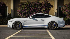 Rick Elam's Supercharged S550 Mustang GT on Forgeline One Piece Forged Monoblock RB1 Wheels