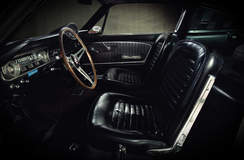 1965 GT350 Barn Find Interior