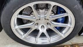 Sean B's C6 Corvette ZR1 on Forgeline One Piece Forged Monoblock GA1R Wheels
