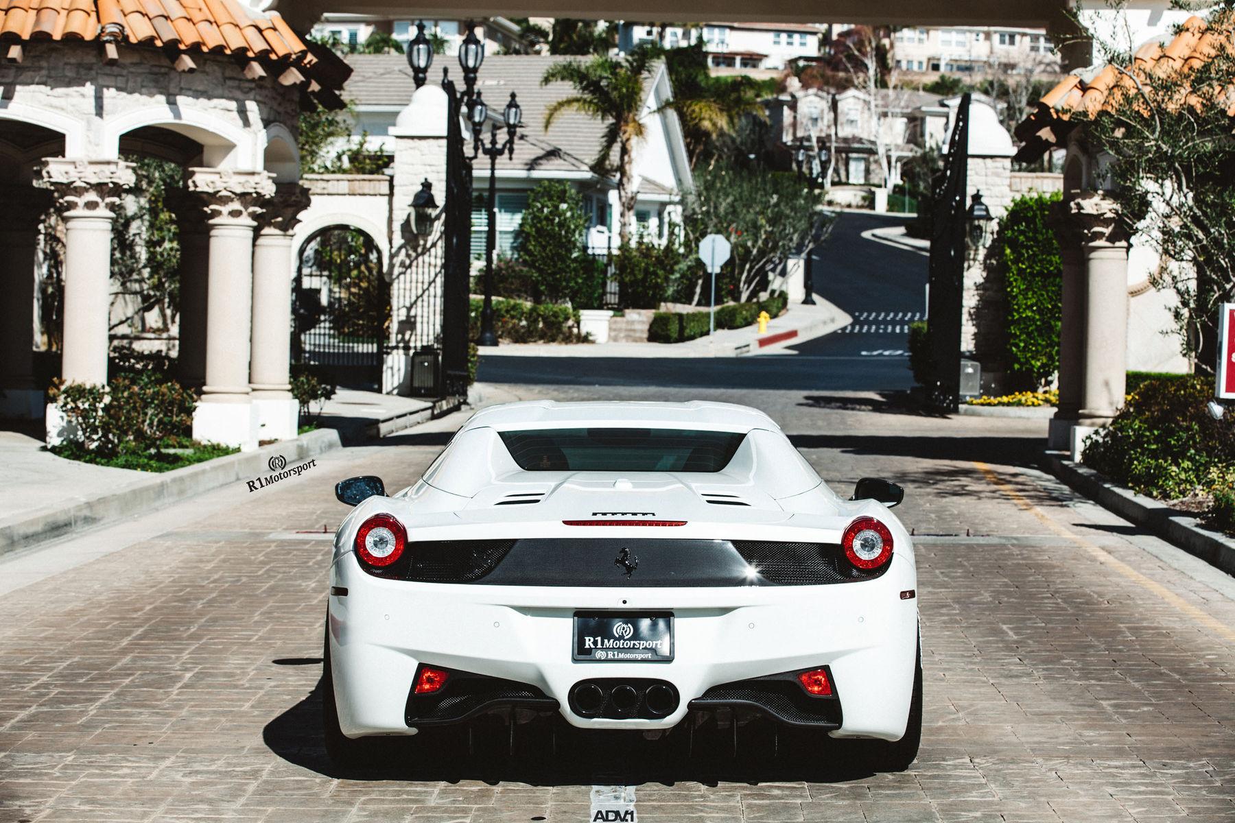 Ferrari 458 Italia | ADV.1 Wheels Ferrari 458