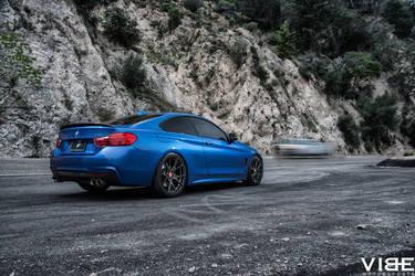 2014 BMW 4 Series   2014 BMW 435i on Vorsteiner Wheels - The Road Ahead