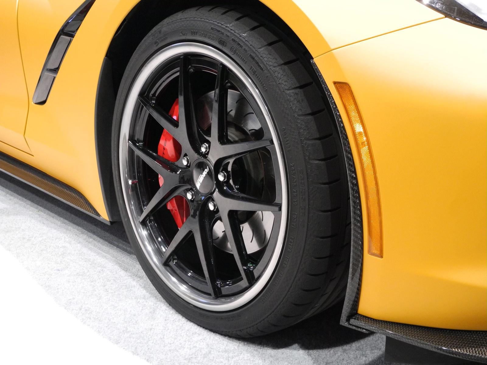 2014 Chevrolet Corvette Stingray | Lingenfelter's C7 Corvette on Forgeline VX3C Wheels at SEMA 2014