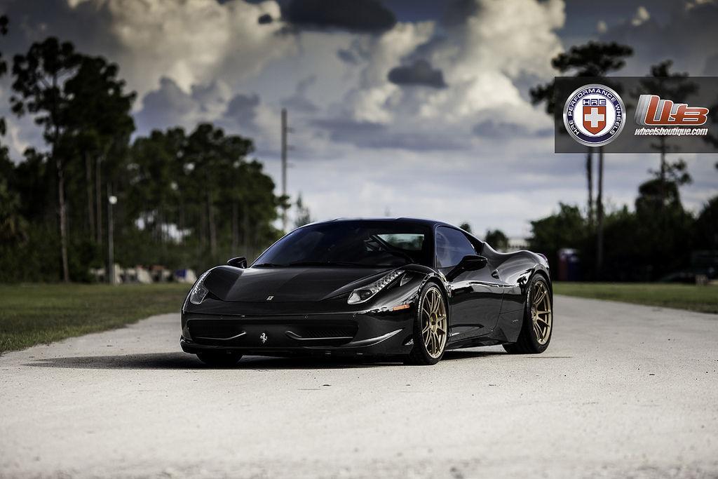 Ferrari 458 Italia | Ferrari 458 Italia on HRE P44SC