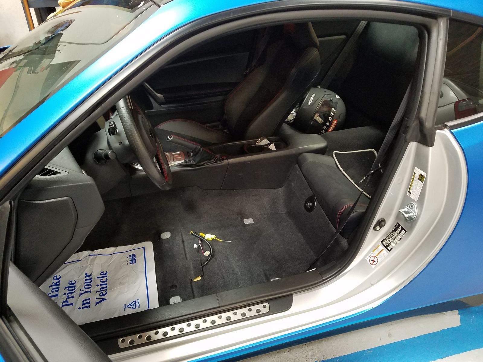 | Recaro Seat Install
