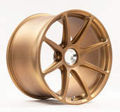 Forgeline One Piece Forged Monoblock GE1 in Matte Tinted Gold