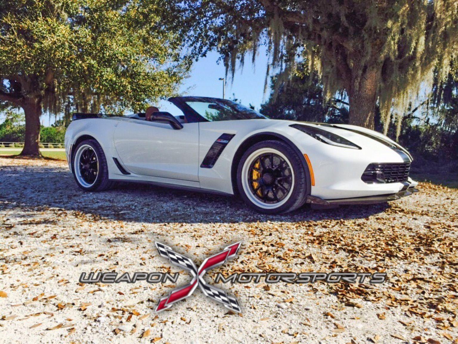 2015 Chevrolet Corvette Z06 | C7 Z06 Convertible on GA3R Center Locking Wheels