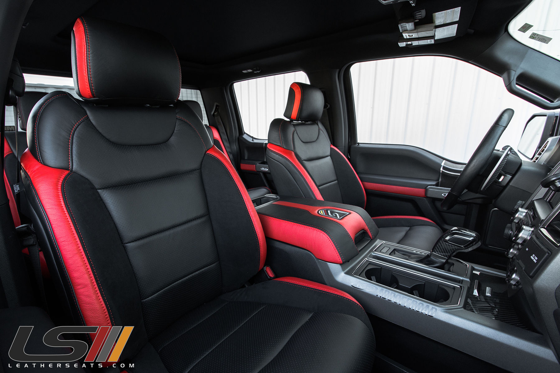 2017 Ford F 150 Raptor Interior By Leatherseats Com