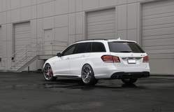 Mercedes E63 Wagon on Forgeline One Piece Forged Monoblock Wheels