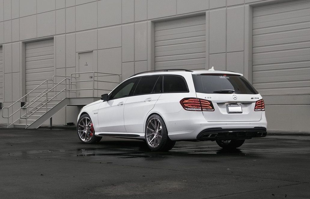 2015 Mercedes-Benz E-Class | Mercedes E63 Wagon on Forgeline One Piece Forged Monoblock Wheels