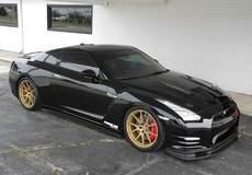Doug Washburn's Nissan GT-R on Forgeline GA1R Deep Cap Wheels in Matte Gold