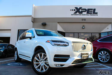 2016 Volvo XC90 | Volvo XC90 in for XPEL ULTIMATE Clear Bra