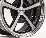 Forgeline Heritage Series FL500 Wheel in Gloss Black/HTM