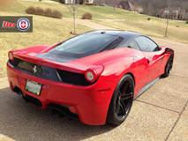 Ferrari 458 on HRE P107