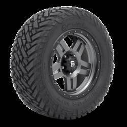 "Fuel Mud Gripper M/T 33"" tires"