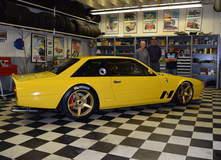 "Jim Busby's 1982 Ferrari ""400GTC"" on Center Locking Forgeline One Piece Forged Monoblock CF1 Wheels"