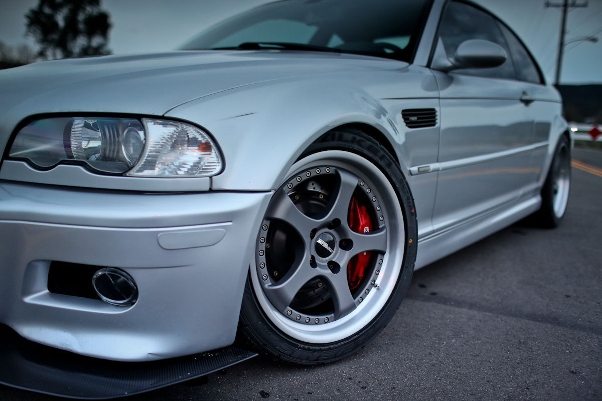 2006 BMW M3   Mark Gearhart's BMW E46 M3 on Forgeline RS3 Wheels