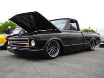 Steve & Danielle Locklin's '70 Chevy C-10 on Forgeline RB3C Wheels