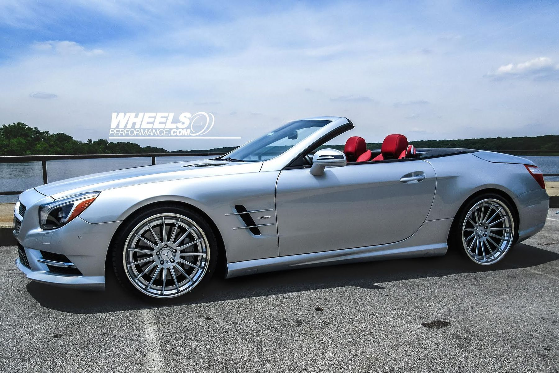2013 Mercedes-Benz SL-Class | OUR CLIENT'S MERCEDES SL550 WITH 20