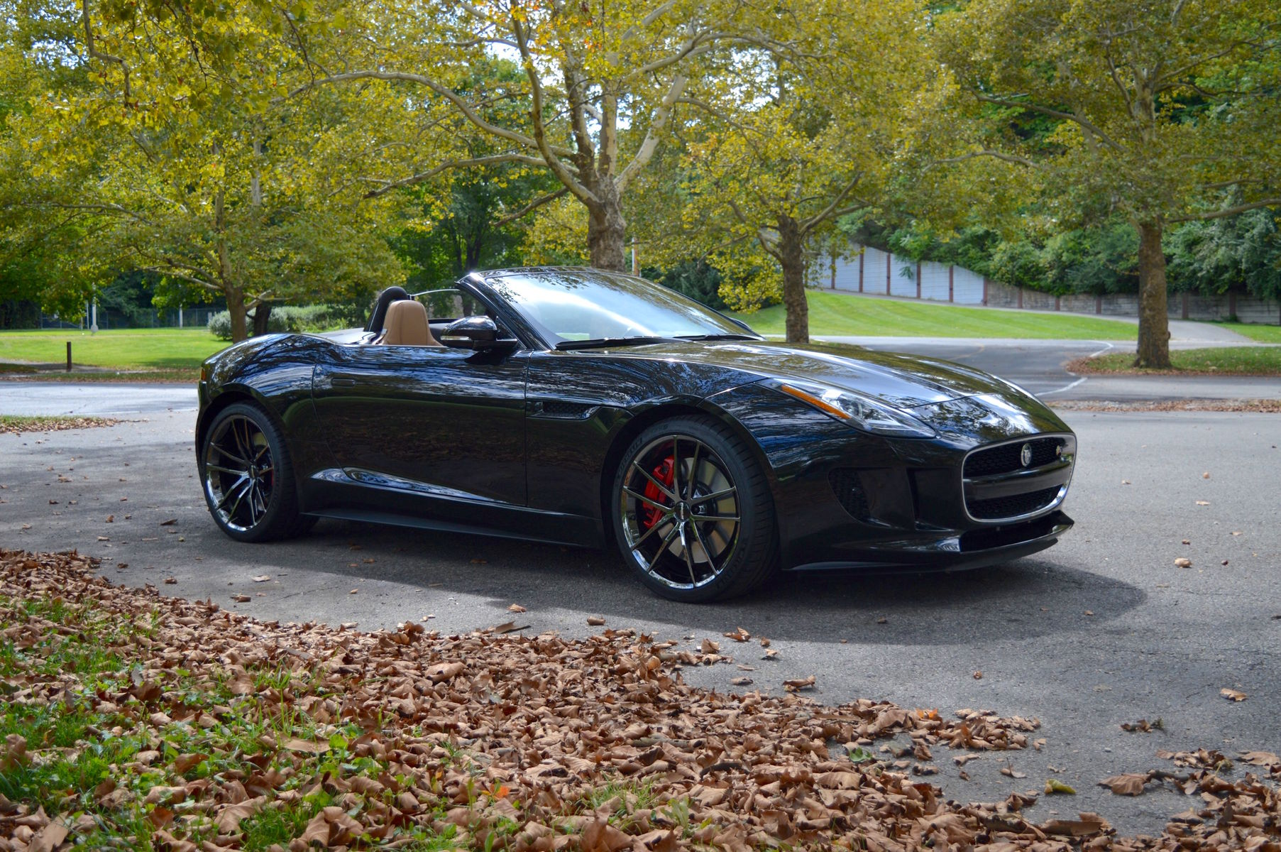 2014 Jaguar F-Type | Dan Warrell's Jaguar F-Type on Forgeline One Piece Forged Monoblock AR1 Wheels