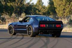 Mustang II on Grip Equipped Laguna Wheels - Rear Shot