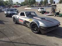 Josh Leisinger's '64 Corvette on Forgeline GS1R Wheels