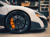 Joe's BBi Autosport McLaren 675LT on Forgeline One Piece Forged Monoblock GT1 5-Lug Wheels