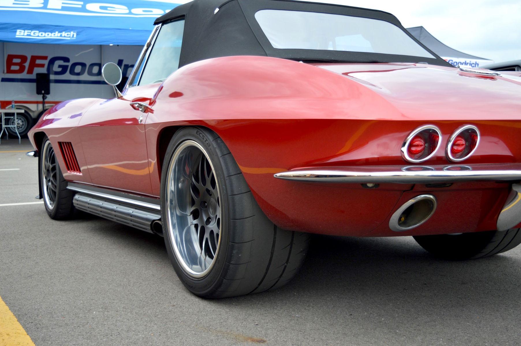 1967 Chevrolet Corvette | Nick Weber's 1967 Corvette Convertible on Forgeline DE3P Wheels