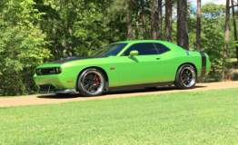 Adam Smith's Petty's Garage Hemi-Powered Dodge Challenger on Forgeline GA3 Wheels