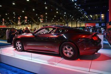 2015 Ford Mustang | King Cobra Rear 3/4 Shot