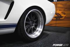 Matt Alcala's Widebody 1965 Ford Mustang Fastback on Forgeline GZ3R Wheels - Spokes