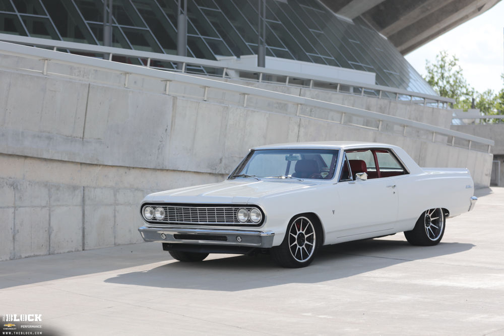 1964 Chevrolet Chevelle | Rob Kibbe's 1964 Chevelle on Forgeline Rebel Wheels