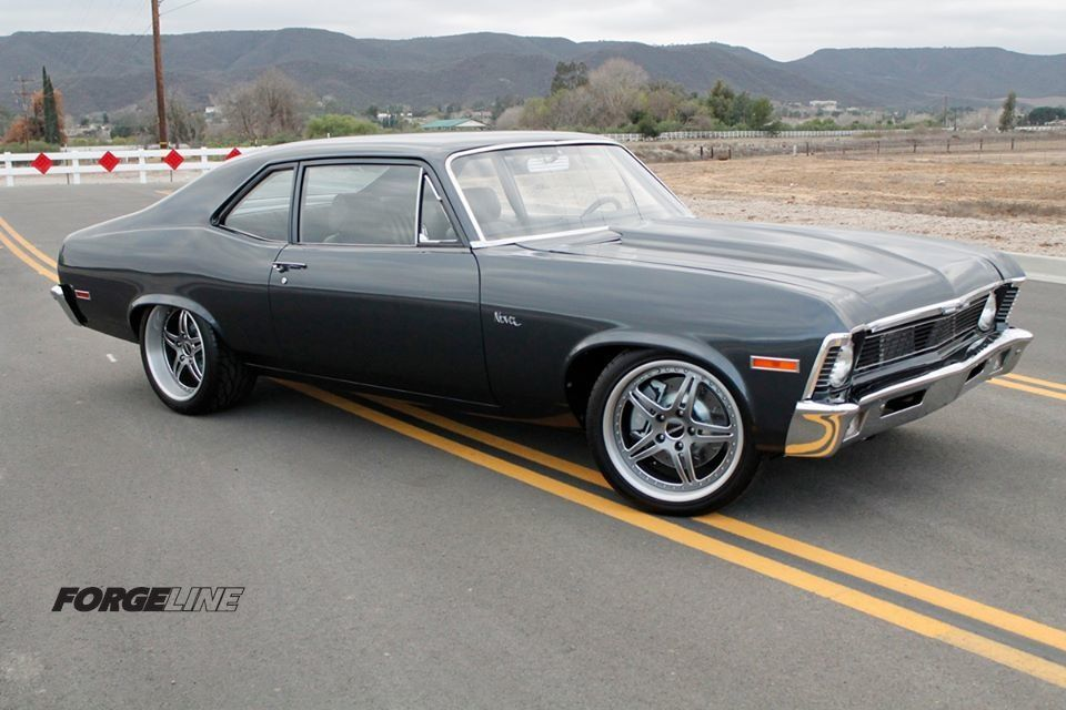 1971 Chevrolet Nova | LSXTV.com's Project Swinger Chevy Nova on Forgeline SP3P Wheels