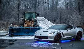 Reed Miller's C7 Corvette Grand Sport on Forgeline One Piece Forged Mononblock GA1R Wheels