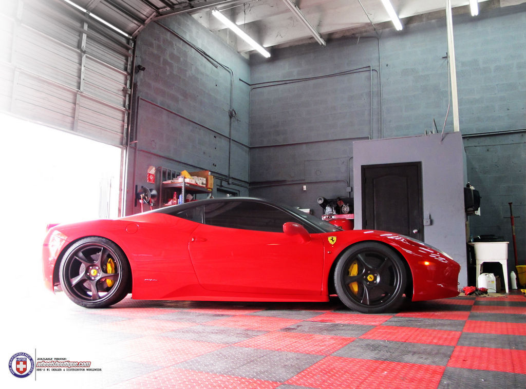 Ferrari 458 Italia | 458 on HRE 792RS