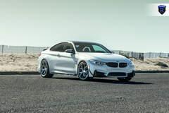 BMW M4 - White Front Angle Shot