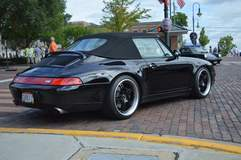 Yuri Rojas' Porsche 993 Convertible on Forgeline SP3P Wheels