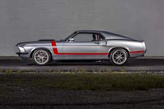 Raybestos Brand's 1969 Mustang on Forgeline GA3C Concave Wheels