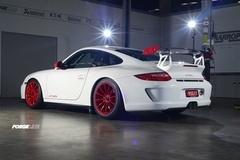 Harrop Engineering's Porsche GT3RS on Forgeline One Piece Forged Monoblock GT1 Wheels