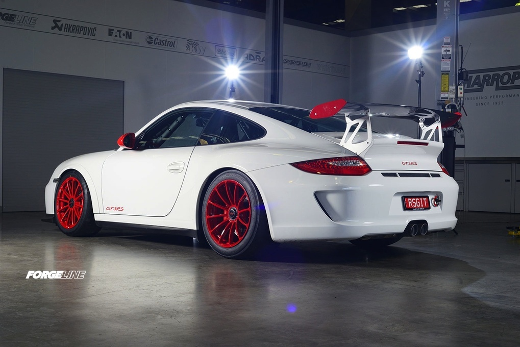 2014 Porsche 911 | Harrop Engineering's Porsche GT3RS on Forgeline One Piece Forged Monoblock GT1 Wheels