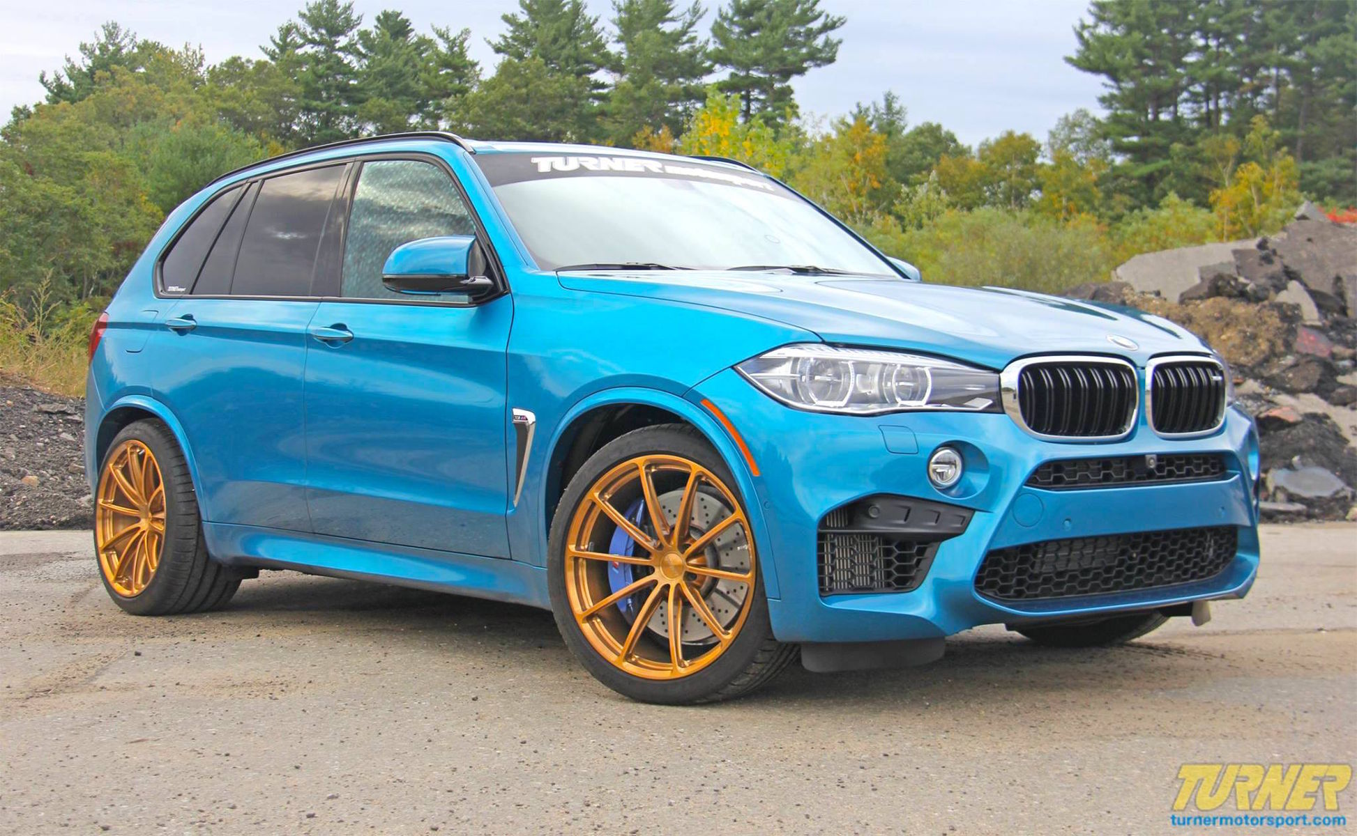2015 BMW X5 M | Turner Motorsport BMW X5 M on Forgeline GT1 5-Lug Wheels