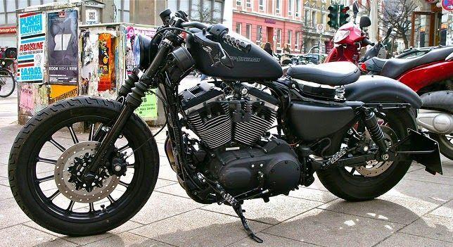 Harley-Davidson  | exotic-black-harley+davidson