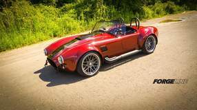 Ford Racing Coyote 5.0-powered Backdraft Racing RT3B Roadster on Center Locking Forgeline DE3C Wheels
