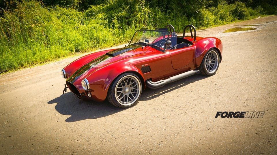 2014 Ford  | Ford Racing Coyote 5.0-powered Backdraft Racing RT3B Roadster on Center Locking Forgeline DE3C Wheels