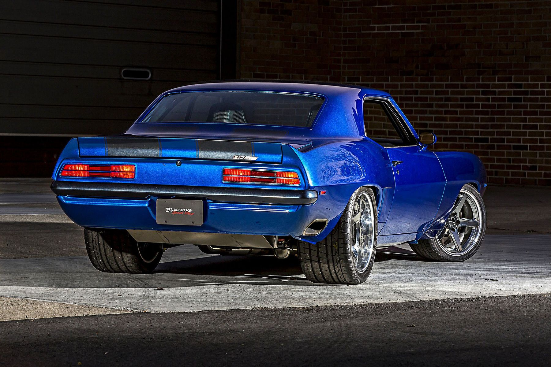1969 Chevrolet Camaro | Blackdog Speed Shop's Pro-Touring 1969 Camaro on Forgeline CF3C Concave Wheels