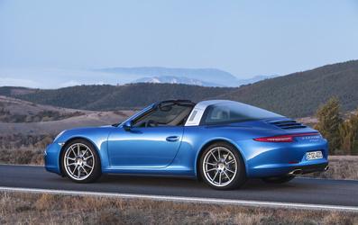 '14 Porsche 911 Targa 4
