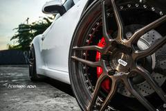 '13 Porsche Cayman S on ADV.1's