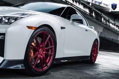 White Nissan GTR - Stance