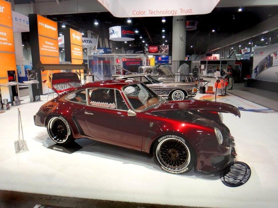 1970 Porsche 911 | The Custom Shop's 1970 Porsche 911 on Forgeline Heritage Series LS3 Wheels