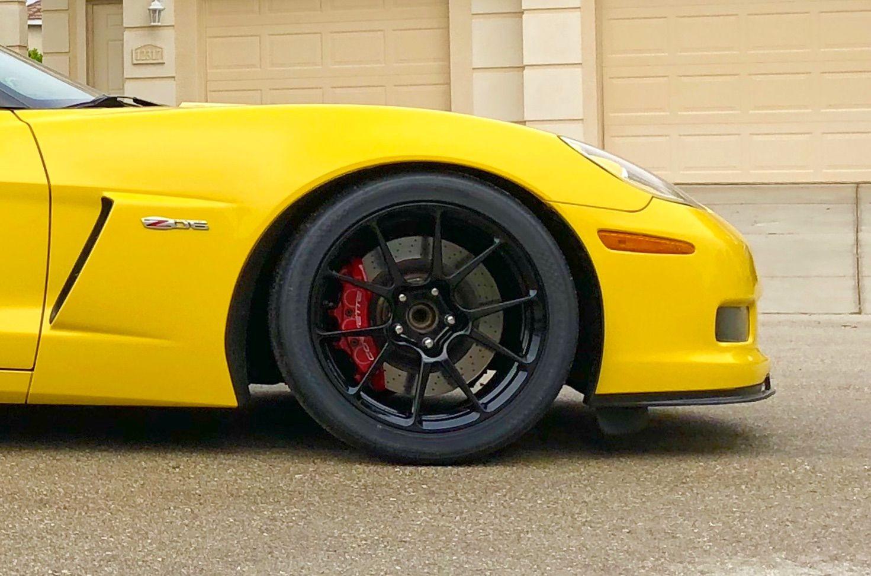 2013 Chevrolet Corvette Z06 | Sharad's C6 Corvette Z06 on Forgeline One Piece Forged Monoblock GS1R Wheels