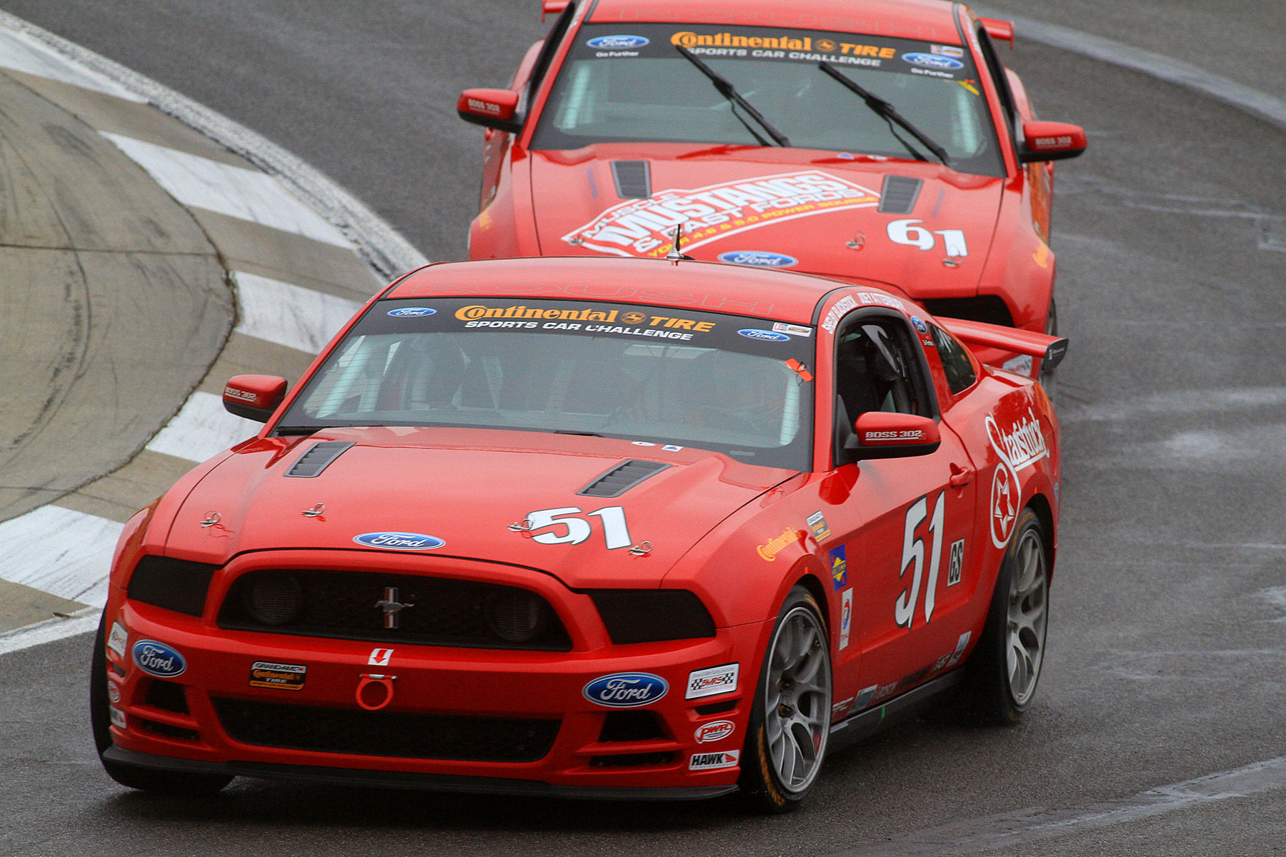 | Competition was fierce at Barber, all running fast on their Continental Tires